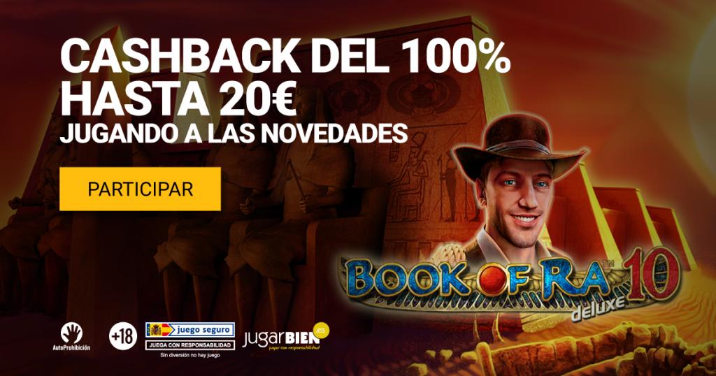 cashback 100% nuevas slots yocasino