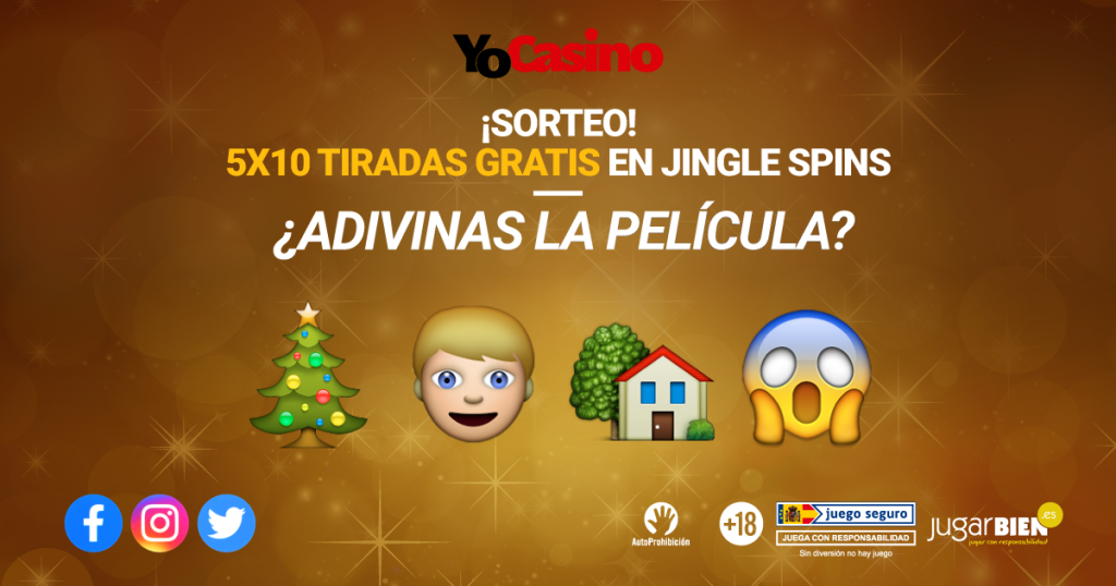 Hadiah Natal YoCasino: 5x10 FS dalam Jingle Spin