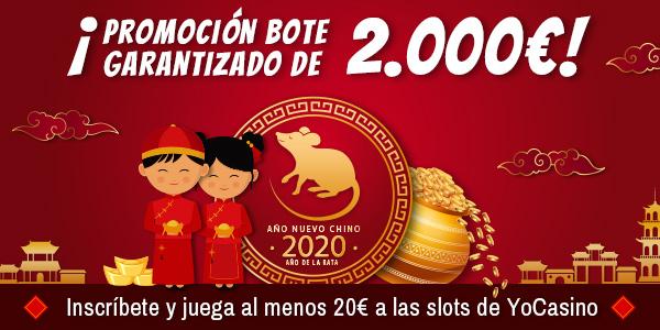 Promoción Año Nuevo Chino YoCasino